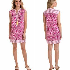 Vineyard Vines Tile Medallion Print Tunic Dress